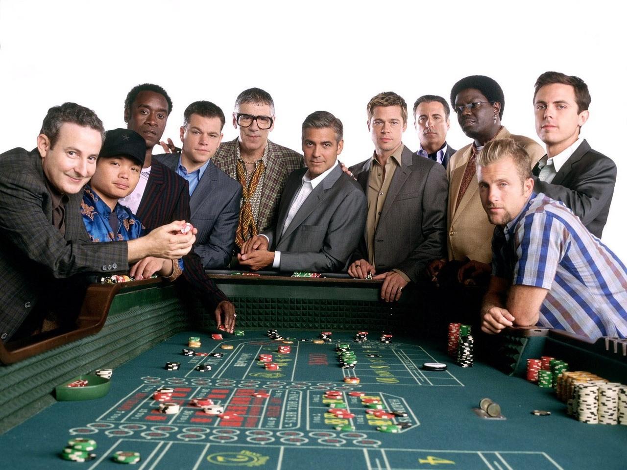 работы в какой покер играли в одиннадцать друзей оушина как нижнее